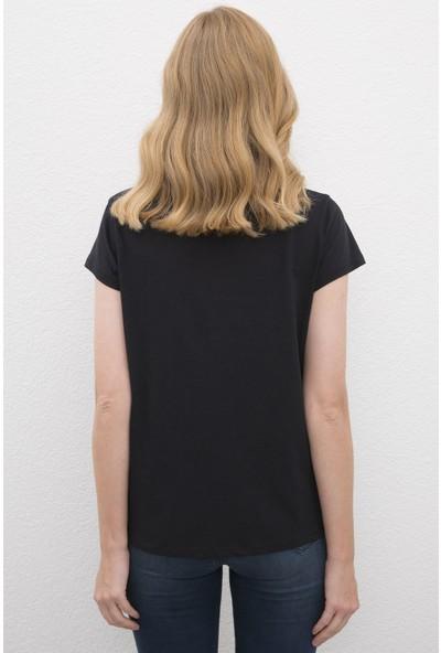 U.S. Polo Assn. Kadın Tshirt 50225585-Vr046