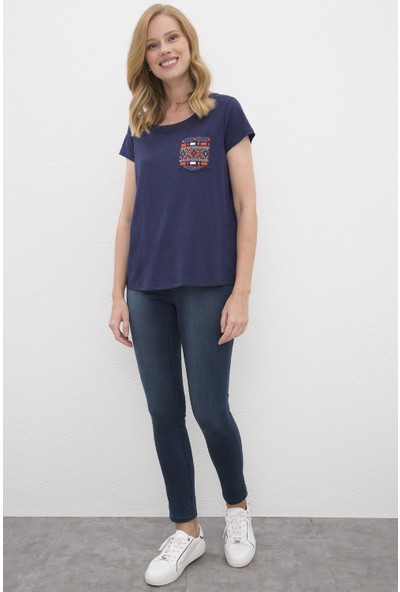 U.S. Polo Assn. Kadın Tshirt 50225585-Vr033