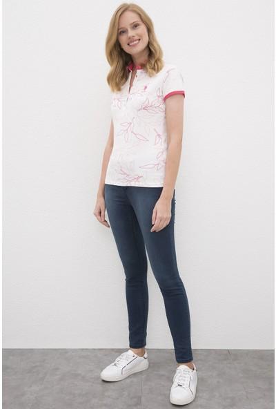 U.S. Polo Assn. Kadın Tshirt 50225621-Vr041