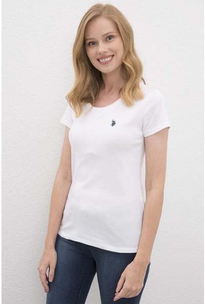U.S. Polo Assn. Kadın Tshirt 50225760-Vr013