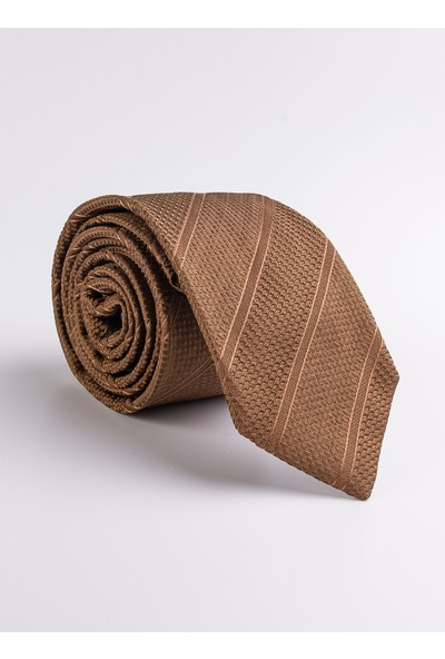 Dufy A.kahve İpek Erkek Kravat