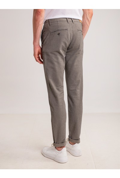 Dufy Taş Armür Pamuk Likra Karışımlı Erkek Pantolon - Battal