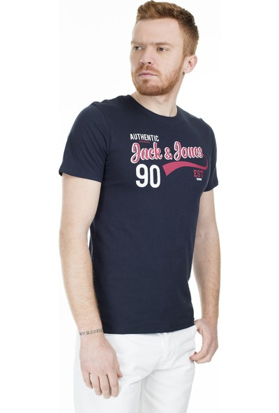 Jack & Jones Essentials Jjelogo Slim Fit T Shirt Erkek T Shirt 12164848