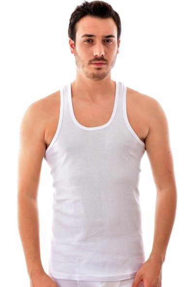 Seher 12 Adet 0058 Erkek Spor Atlet Beyaz