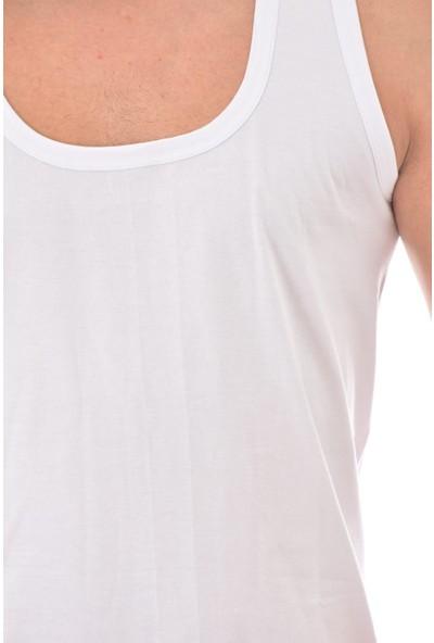 Tutku 6 Adet 0101 Erkek Penye Atlet Beyaz