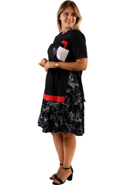 Endorfin Büyük Beden Elbise 3 Cepli