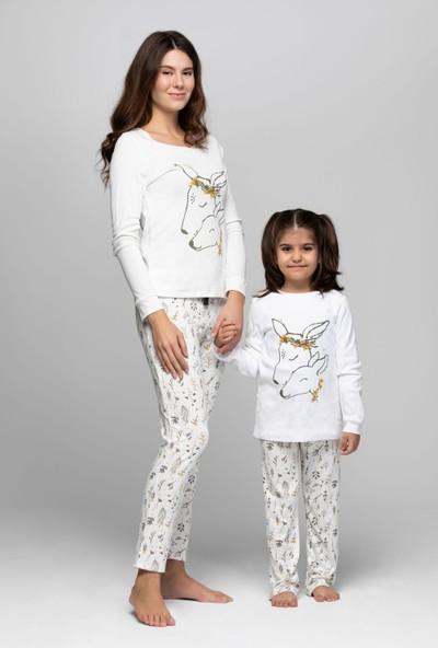 Just Basic L50003 Sweety Anne Kız Pijama Takımı