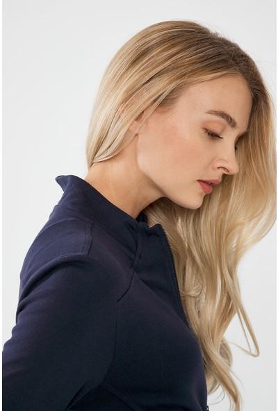Decosa Paris Fermuarlı Kadın Sweatshirt