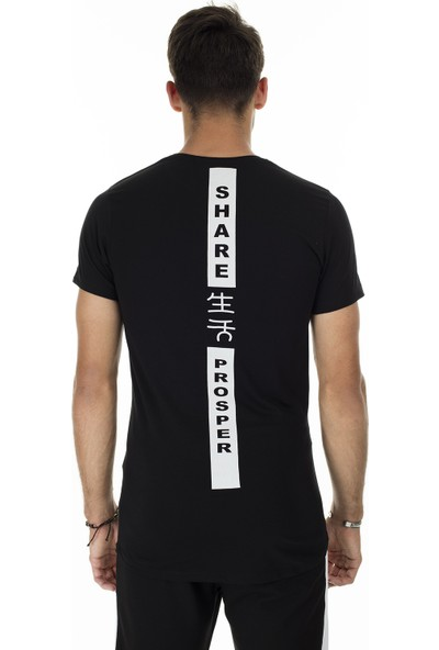 Buratti Baskılı Bisiklet Yaka Slim Fit T-Shirt Erkek T-Shirt 5412018R