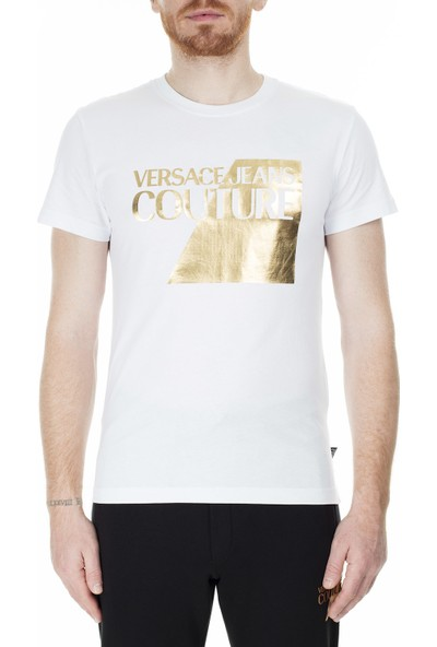 Versace Couture Slim Fit T Shirt Erkek T Shirt B3Gvb7Tp 30319003
