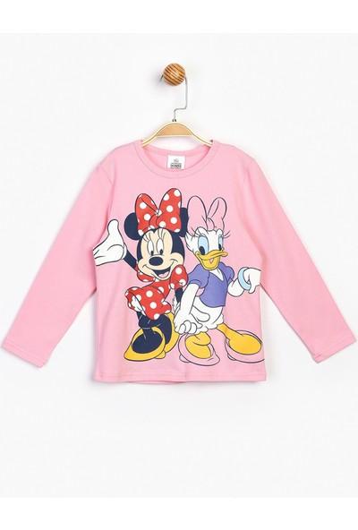 Minnie Uzun Kol T-Shirt 16298