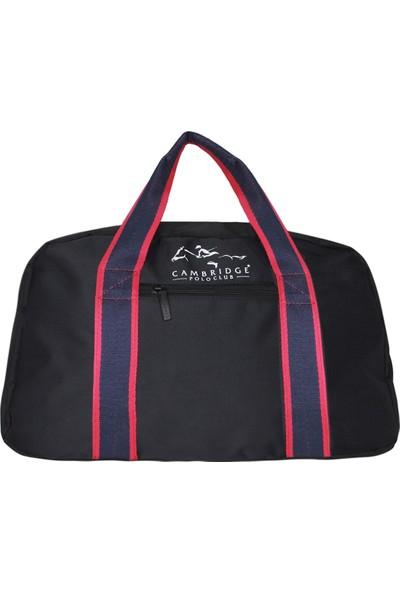 Cambridge Polo Club Spor & Seyahat Çantası PLVLZ60017 Siyah