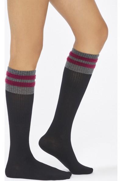 Penti Siyah BU4U Cooly Pantolon Çorabı