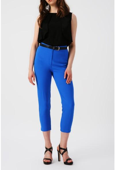 Random Kadın Cep Detaylı Havuç Kesimli Pantolon