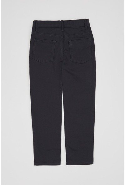 Defacto Erkek Çocuk Regular Fit Basic 5 Cepli Dokuma Pantolon