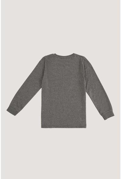 Defacto Erkek Çocuk Baskılı Uzun Kollu Tişört