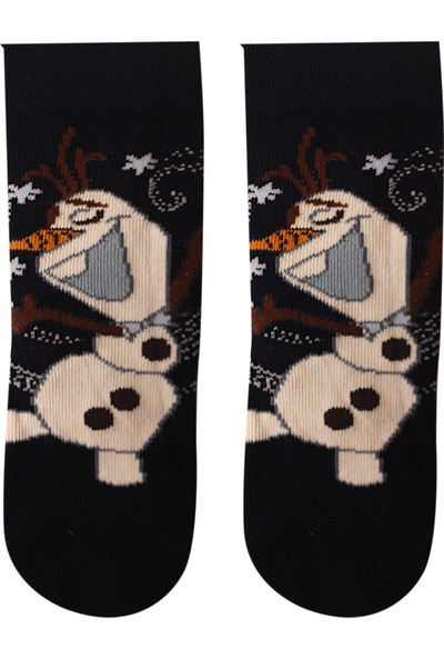 Çimpa Disney Karlar Ülkesi Olaf Lisanslı Çocuk Çorap