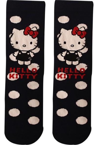 Çimpa Disney Hello Kitty Lisanslı Çocuk Çorap