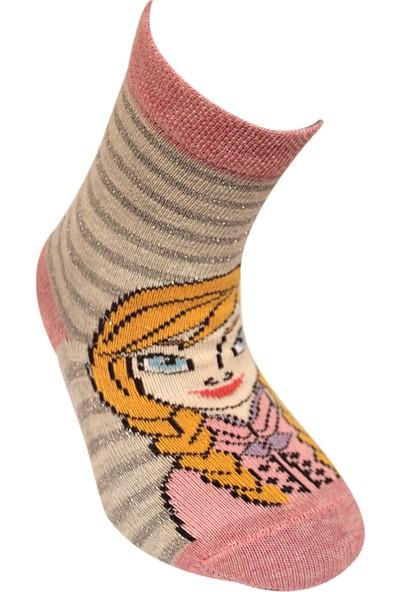 Çimpa Disney Karlar Ülkesi Elsa Lisanslı Çocuk Çorap