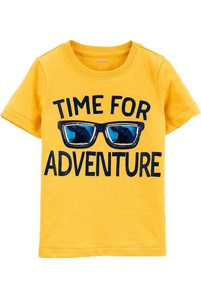 Carter's Gözlük Desenli Çocuk T-Shirt