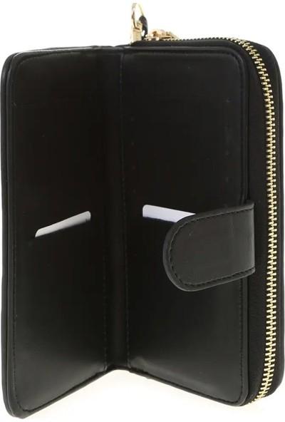 U.S. Polo Assn. - Siyah Renk Desenli Cüzdan