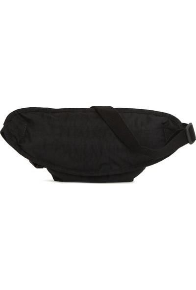 Bagmori Siyah Armalı Büyük Bel Çantası