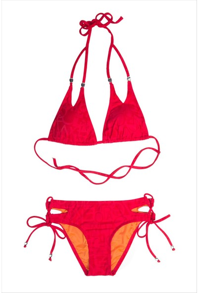Ayyıldız Kız Çocuk Bikini Takımı 2401-2 Kırmızı