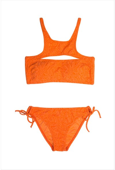 Ayyıldız Kız Çocuk Bikini Takımı 2402-2 Turuncu