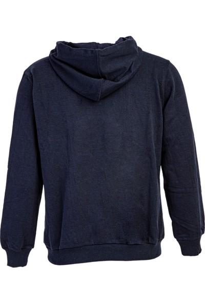 Kiğılı Kapüşonlu Sweatshirt