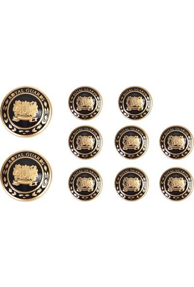 Kiğılı Metal Ceket Düğme Seti