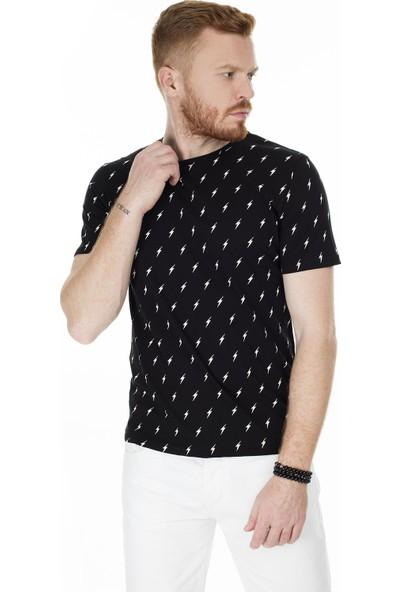 John Frank Erkek T-Shirt JFTMC02-FLASH