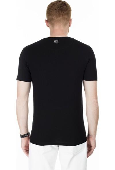 John Frank Erkek T-Shirt JFTMC06-SMILE