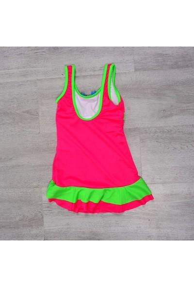 Sam Kız Çocuk Elbise Mayo Pembe 230177