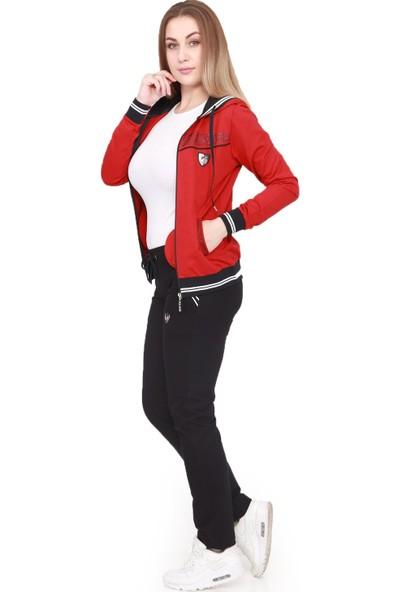 Tatu Kadın Eşofman Takım Kırmızı 1223