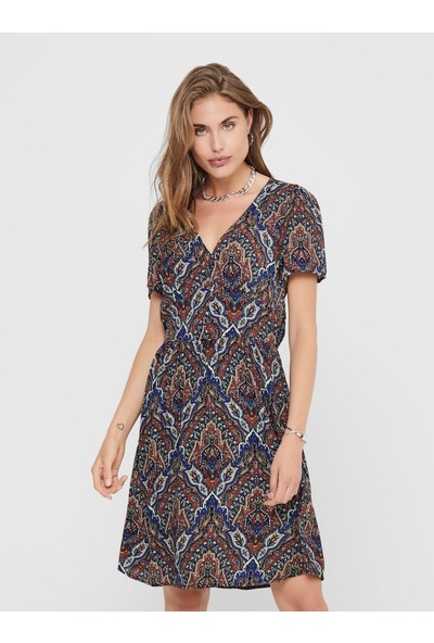 Only Onlvide S / s Dress Kadın Elbise