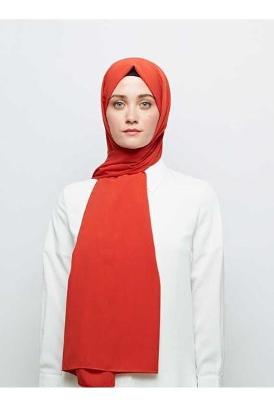 Modakaşmir Medine Ipeği Orange Şal