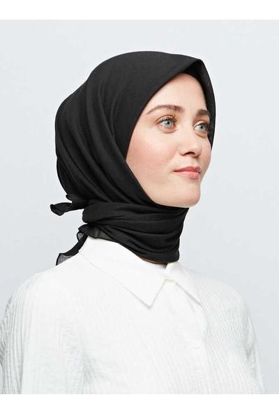Modakaşmir Pamuk Eşarp Siyah