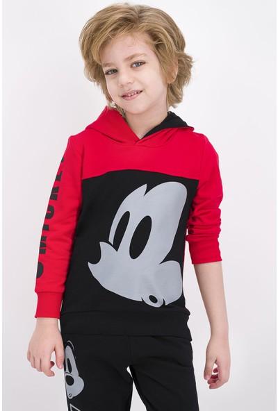 Mickey Mouse Lisanslı Erkek Çocuk Eşofman Takımı