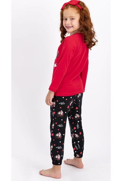 Minnie Mouse Lisanslı Kız Çocuk Pijama Takımı