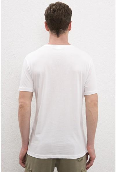 U.S. Polo Assn. Erkek T Shirt Basic 50222613-Vr013