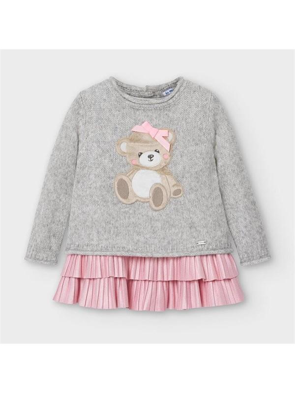 Mayoral Kız Bebek Takım Görünümlü Elbise Set