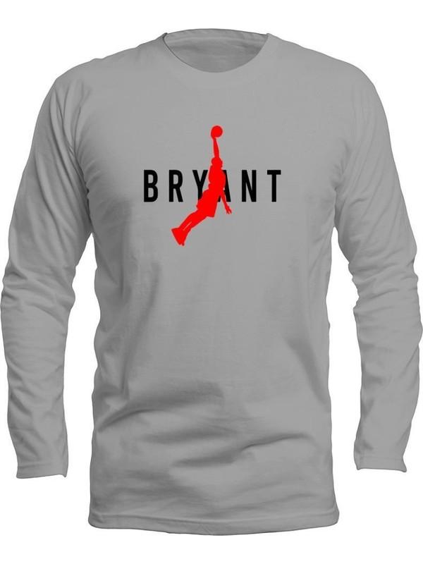 Fandomya All-Star Bryant Type Gri Long Sleeve