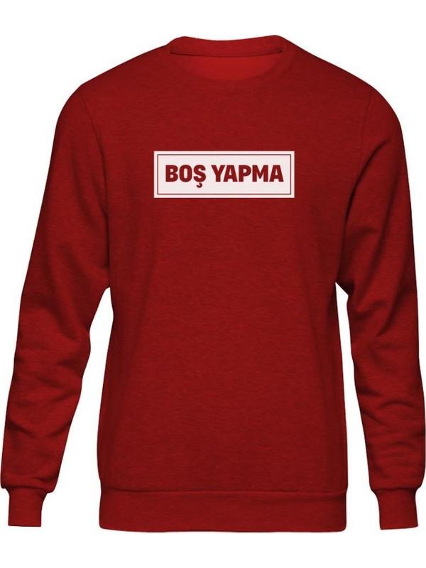 Fandomya Anadolu Replikleri Boş Yapma Kırmızı Sweatshirt