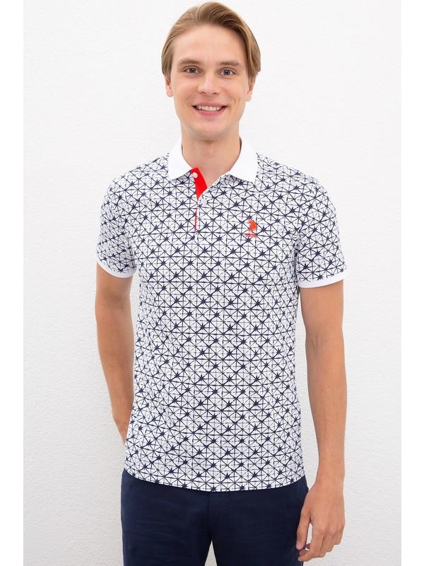 U.S. Polo Assn. Beyaz T-Shirt 50217898-VR013