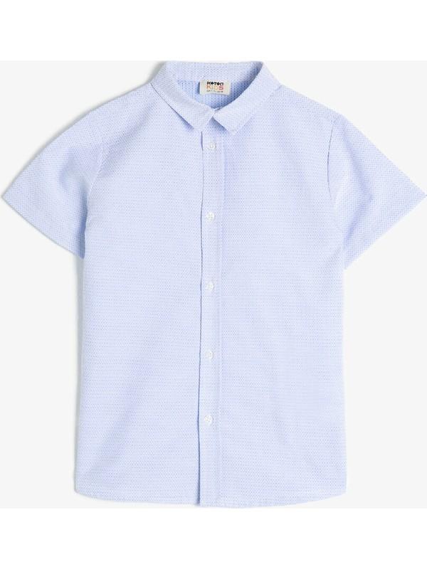Koton Klasik Yaka Erkek Çocuk Gömlek