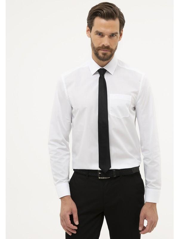 Pierre Cardin Erkek Regular Fit Basic Gömlek 50231291-Vr013