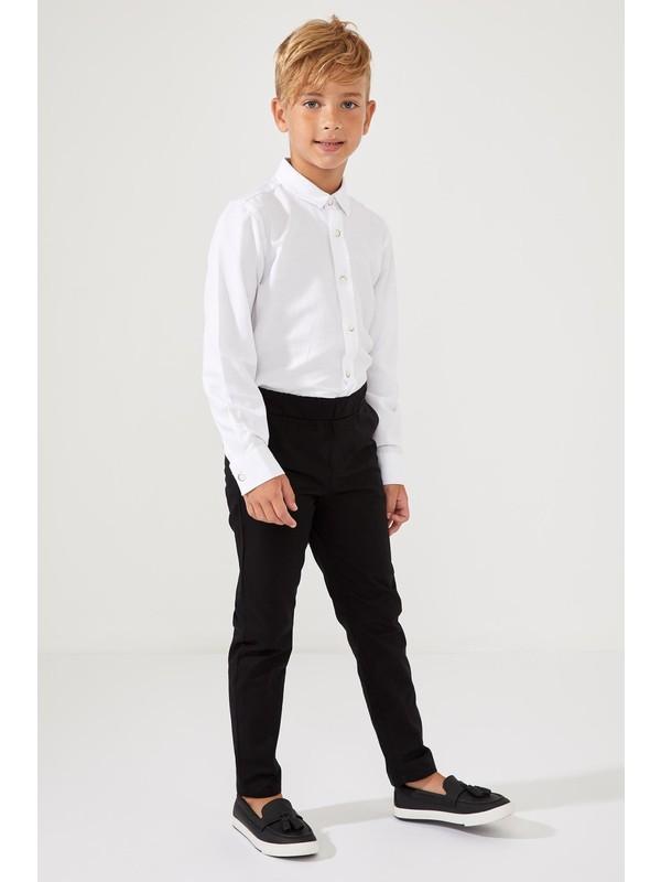 Defacto Erkek Çocuk Beli Lastikli Dokuma Pantolon R7061A620AU