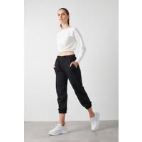 Lela Beli ve Paçası Lastikli Basic Jogger Örme Eşofman Altı Kadın Eşofman Altı 5413026