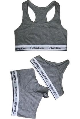 Calvin Klein 3 Pack Cotton Bustiyer Şort String