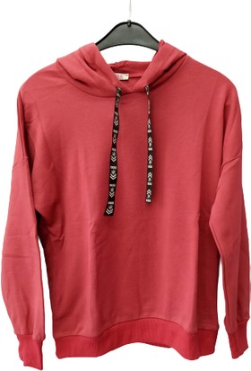 Rose Moda Erkek Kapşonlu Swetshirt